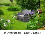 dutch paradise   view of a cosy ... | Shutterstock . vector #1304012584