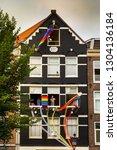 amsterdam  holland   august 4... | Shutterstock . vector #1304136184