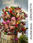 amsterdam  holland   august 4... | Shutterstock . vector #1304140774