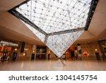 paris  france   october 02 ...   Shutterstock . vector #1304145754