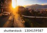 september 20  2018   katmandu ...   Shutterstock . vector #1304159587