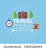 travel more background | Shutterstock .eps vector #1304166964