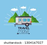 travel more background | Shutterstock .eps vector #1304167027