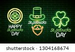 happy st patrick | Shutterstock .eps vector #1304168674