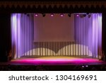theatrical scene without actors ...   Shutterstock . vector #1304169691