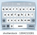 mobile keyboard for iphone....