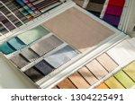 catalog of multicolored cloth... | Shutterstock . vector #1304225491
