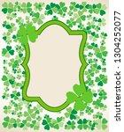 saint patrick's day vintage...   Shutterstock .eps vector #1304252077