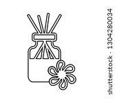 chopsticks flavorings icon.... | Shutterstock . vector #1304280034