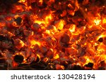 Burning Charcoal In The...