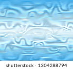abstract horizontal lines  blue ... | Shutterstock .eps vector #1304288794