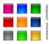 internet web button set | Shutterstock . vector #130430081