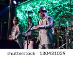 Small photo of LINCOLN, CA - FEB 15: The Bar-Kays perform at V101's Valentines bash featuring The Club Nouveau and ZAPP at Thunder Valley Casino Resort in Lincoln, California on February 15, 2013