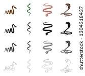 vector illustration of mammal...   Shutterstock .eps vector #1304318437