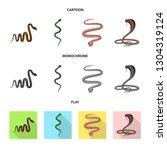 vector design of mammal and...   Shutterstock .eps vector #1304319124