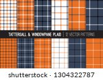 burnt orange  navy blue  black... | Shutterstock .eps vector #1304322787