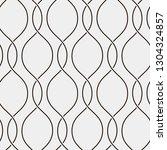 seamless ripple pattern. trendy ... | Shutterstock .eps vector #1304324857