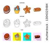 vector illustration of... | Shutterstock .eps vector #1304325484