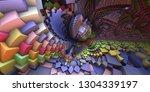 3d Abstract Landscape  Escher...