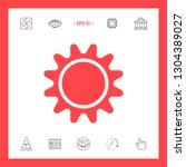 sun icon symbol. graphic...   Shutterstock .eps vector #1304389027