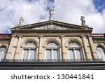 front of national theater...