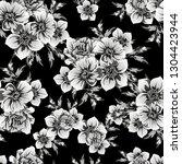 flower print. elegance seamless ... | Shutterstock .eps vector #1304423944
