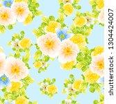 flower print. elegance seamless ... | Shutterstock .eps vector #1304424007