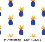 seamless pop art vector pattern ... | Shutterstock .eps vector #1304463211