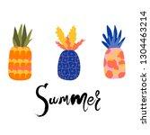 abstract hand drawn original... | Shutterstock .eps vector #1304463214
