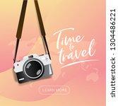 travel poster  brochure   flyer ... | Shutterstock .eps vector #1304486221