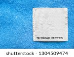 composition clothes label on... | Shutterstock . vector #1304509474