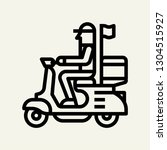 delivery bike scooter concept...