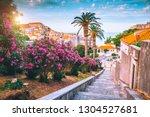 splendid view at famous... | Shutterstock . vector #1304527681