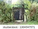 old wooden door | Shutterstock . vector #1304547571