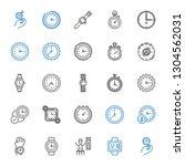 chronometer icons set....   Shutterstock .eps vector #1304562031