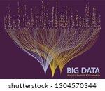 big data statistical methods... | Shutterstock .eps vector #1304570344
