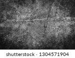 closeup of black metal rust... | Shutterstock . vector #1304571904