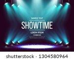 scene for presentation.... | Shutterstock .eps vector #1304580964