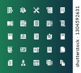 notepad icon set. collection of ...   Shutterstock .eps vector #1304592631
