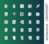 choosing icon set. collection... | Shutterstock .eps vector #1304592697