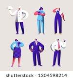 various career worker set for... | Shutterstock .eps vector #1304598214