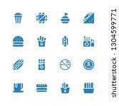 unhealthy icon set. collection...   Shutterstock .eps vector #1304599771