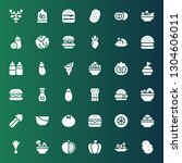 tomato icon set. collection of... | Shutterstock .eps vector #1304606011