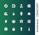 raw icon set. collection of 16... | Shutterstock .eps vector #1304621047