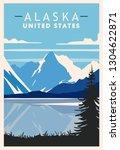 Alaska Retro Poster. Usa Travel ...