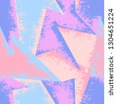 grunge geometric pattern for... | Shutterstock .eps vector #1304651224