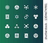 atomic icon set. collection of... | Shutterstock .eps vector #1304674981