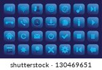 icon set button for web app...   Shutterstock .eps vector #130469651