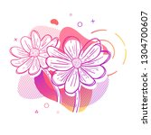 template design print with... | Shutterstock .eps vector #1304700607
