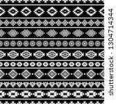 aztec seamless pattern  vector. ...   Shutterstock .eps vector #1304714344